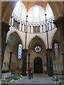 TQ3181 : Temple Church - The Round by Rob Farrow