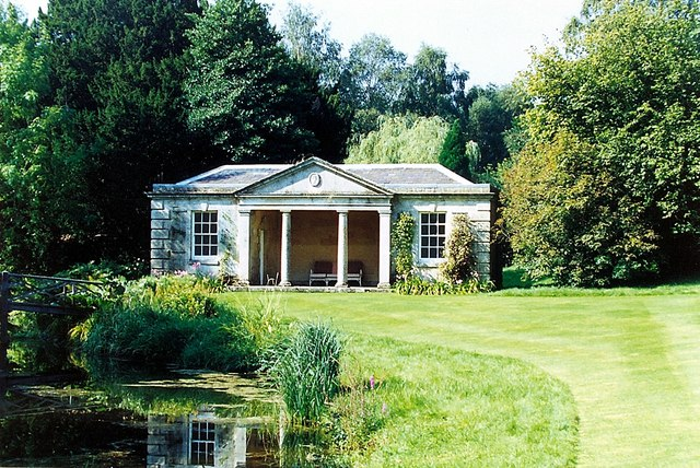 Fishing temple at Holywell Hall, near Bourne, Lincolnshire