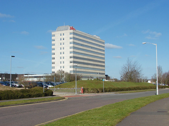 The Fujitsu building, Bracknell