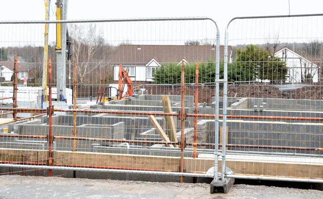 Holywood Road development site, Belfast - February 2015(1)
