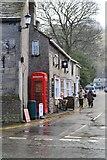 SK1482 : Phone box on the corner by David Martin