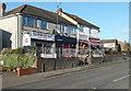 TL1930 : Shops, Grove Road by Humphrey Bolton