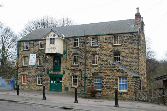 Former flour mill - Elsecar