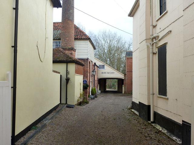 Former brewery yard, Coggeshall