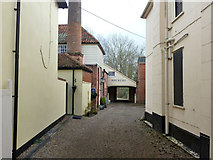 TL8422 : Former brewery yard, Coggeshall by Robin Webster