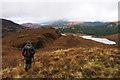 NM9649 : Rib of ground descending towards Lochan Blàr nan Lochan by Trevor Littlewood