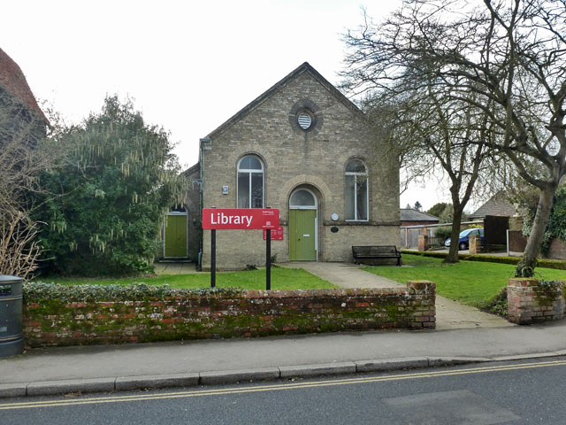 Library, Coggeshall by Robin Webster