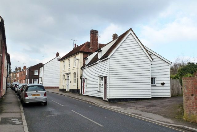 Former Foresters Arms, Coggeshall by Robin Webster