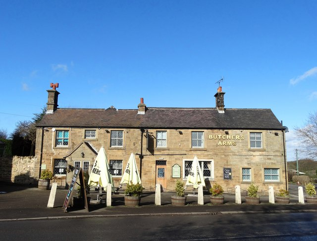 """""""The Butcher's Arms"""" at Marsh Lane"""
