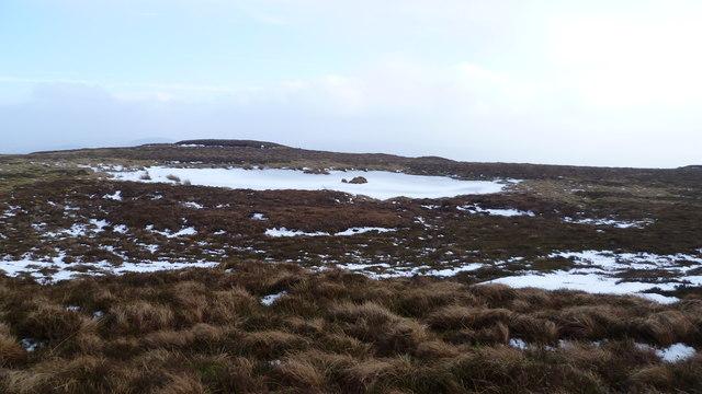 Wintry conditions near Carnedd y Filiast summit