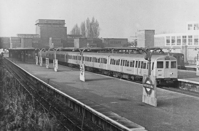 Harrow on the Hill station in 1962