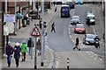 SX9292 : South Street in Exeter City Centre by Road Engineer