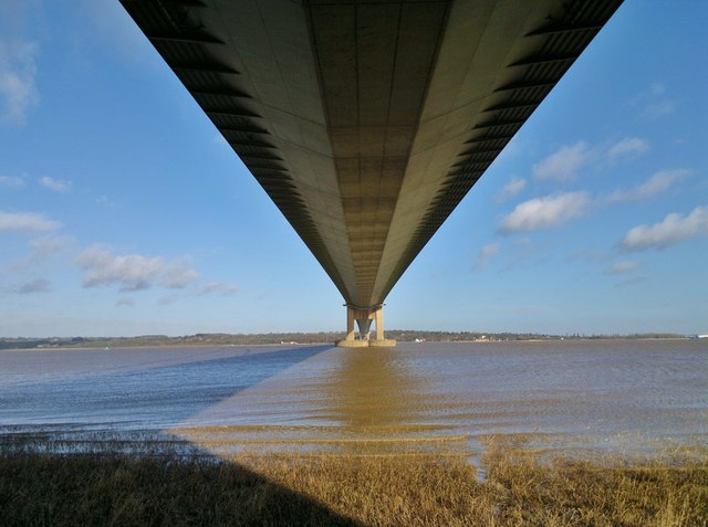 Under the road -  the A15 at Barton-upon-Humber, Lincolnshire