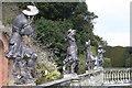 SJ2106 : Dancing statues, Powis by Chris Denny