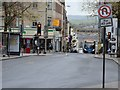 SX9192 : Fore Street in Exeter by Road Engineer