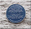 SO3700 : The Great House blue plaque, Usk by Jaggery
