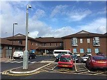 SJ8545 : Royal Stoke University Hospital: Trent Building by Jonathan Hutchins