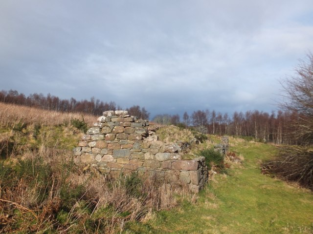 Ruined building at Arrie