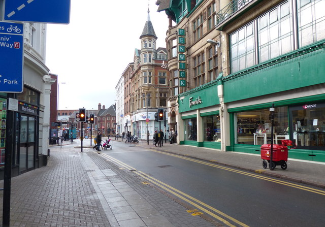 Fenwick department store in Leicester