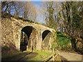 SX7880 : Disused railway bridge, Knowle by Derek Harper
