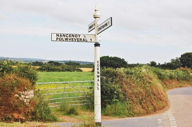 Cornish Fingerpost