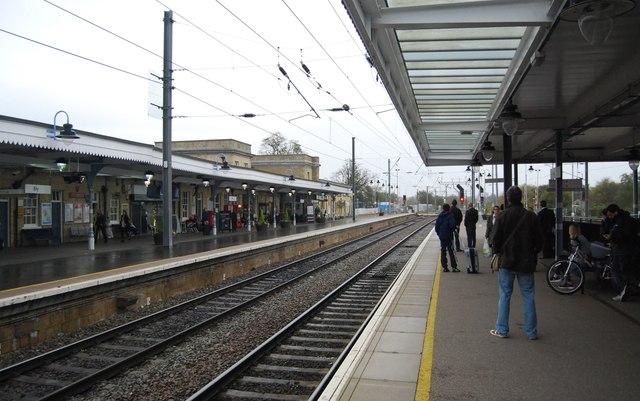 Fen line, Ely Station