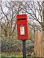 TM3859 : Postbox at the crossroads in Gromford by Adrian S Pye