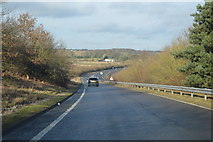 TG1607 : Slip road onto the A47 by N Chadwick