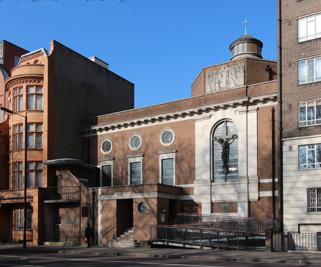 Tyburn Convent, Hyde Park Place, W2
