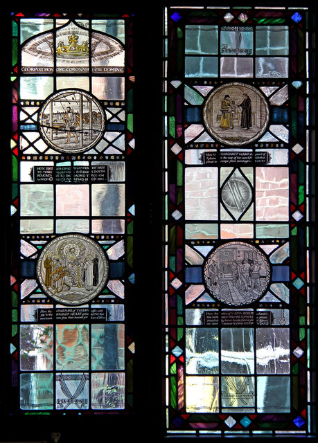 Tyburn Convent, Hyde Park Place, W2 - Stained glass window