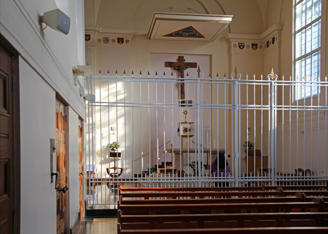 Tyburn Convent, Hyde Park Place, W2 - Blessed Sacrament Chapel