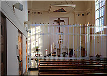 TQ2780 : Tyburn Convent, Hyde Park Place, W2 - Blessed Sacrament Chapel by John Salmon