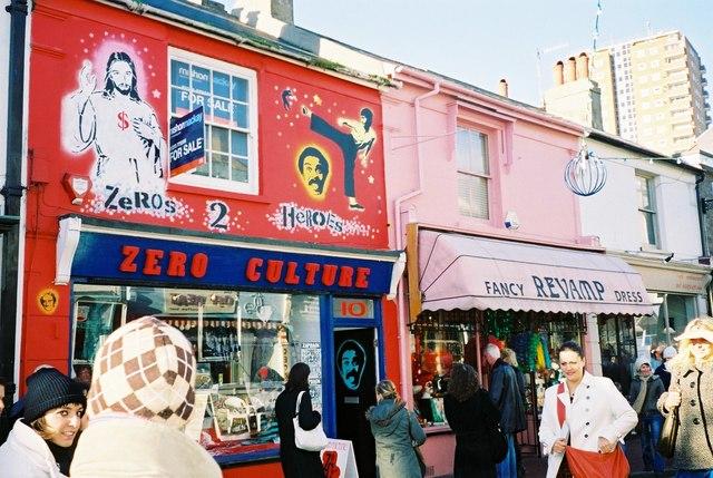 Brighton: shops on Sydney Street