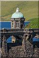 SN8968 : Valve tower, Craig Goch Dam by Ian Capper