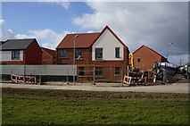 TA1330 : House building on Kilnsea Grove, Hull by Ian S
