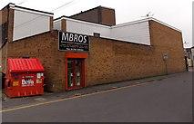 SU1585 : Biffa dry mixed recyclables bin in Whiteman Street, Swindon by Jaggery