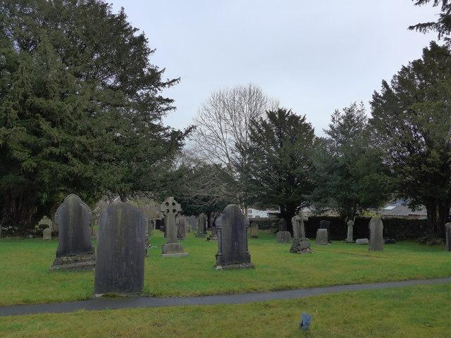 St Oswald, Burneside: churchyard (1)