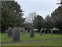 SD5095 : St Oswald, Burneside: churchyard (1) by Basher Eyre