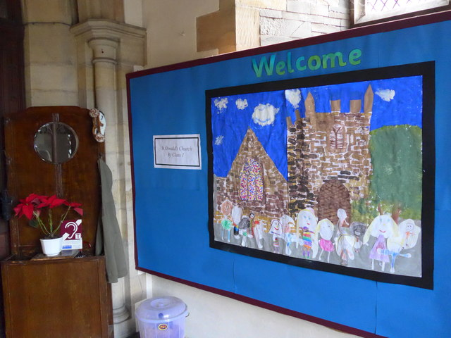 Welcome to St Oswald, Burneside