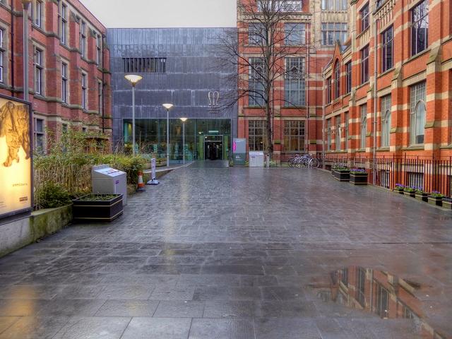 Manchester Museum Entrance