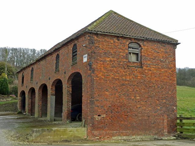 Georgian Cartshed at Horkstow Grange