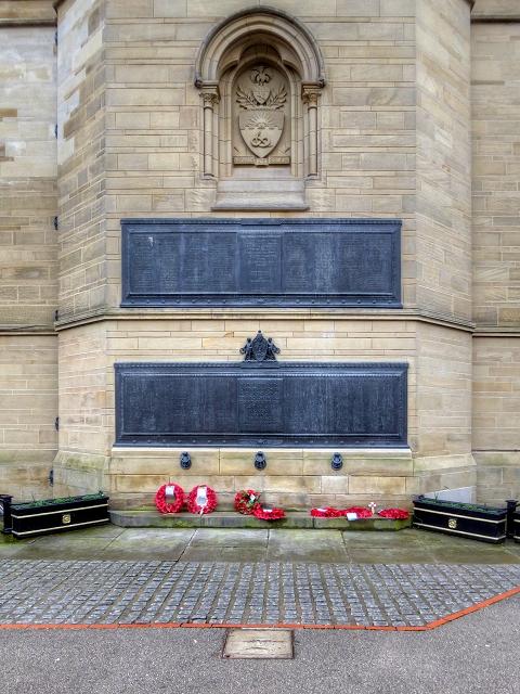 Manchester University War Memorials