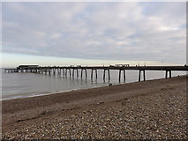 TR3752 : Deal Pier by Richard Rogerson