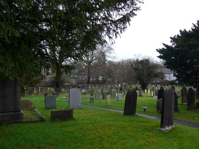 St Oswald, Burneside: churchyard (4)