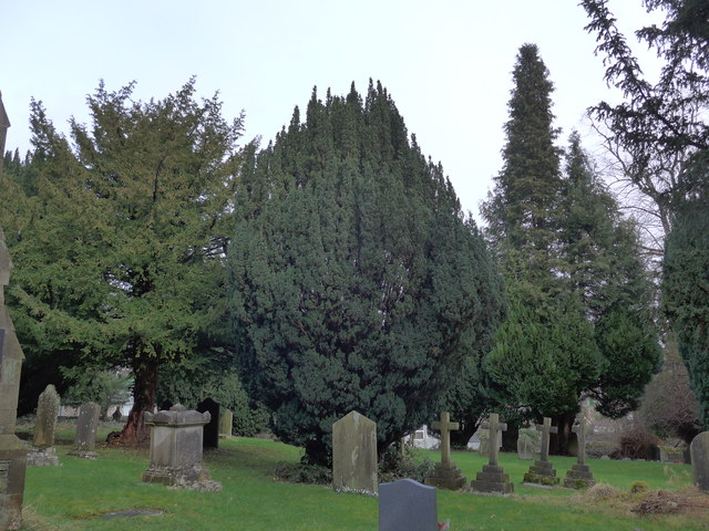 St Oswald, Burneside: churchyard (8)