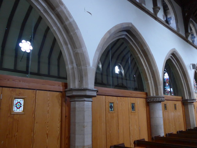 Inside St Oswald, Burneside (a)