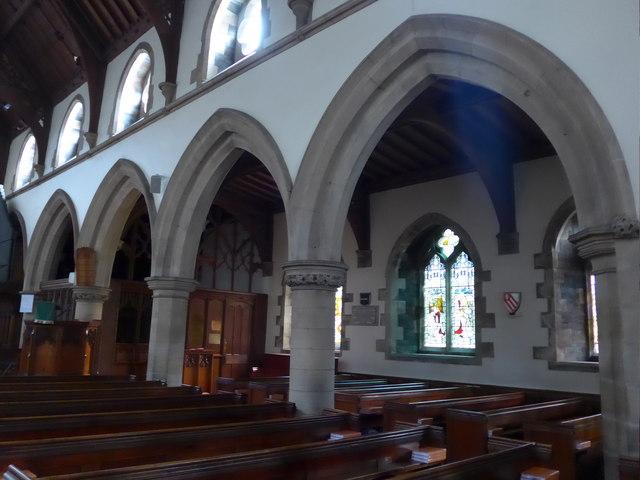 Inside St Oswald, Burneside (b)