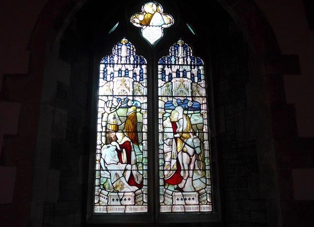 St Oswald, Burneside: stained glass window (B)