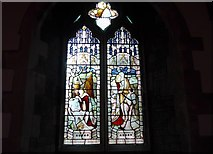 SD5095 : St Oswald, Burneside: stained glass window (B) by Basher Eyre