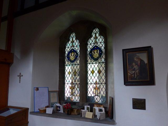 St Oswald, Burneside: stained glass window (E)